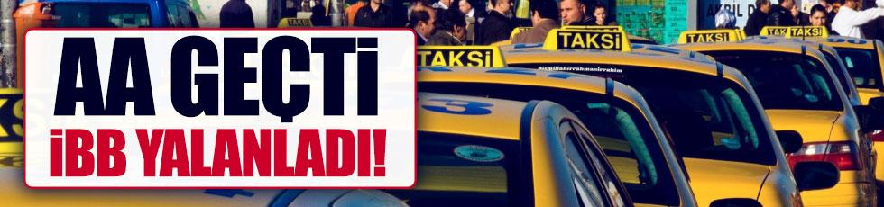 İstanbul'da 'taksi' bilmecesi