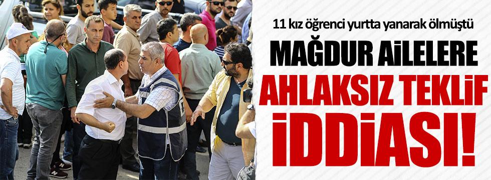 Aladağ'daki yurt yangınıyla ilgili davada ahlaksız teklif iddiası