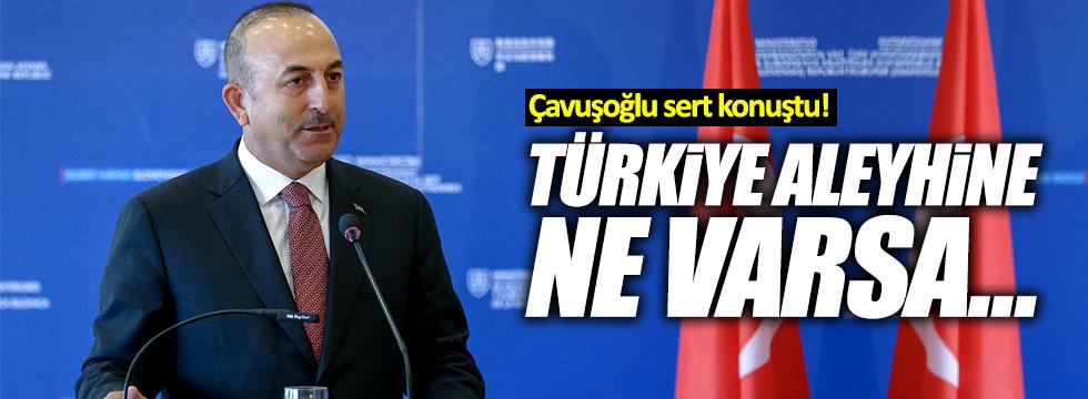 Çavuşoğlu, Alman mevkidaşının ziyareti öncesi sert konuştu!