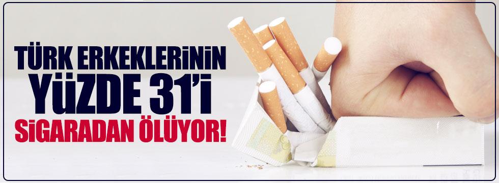 Türk erkekleri sigaradan ölüyor