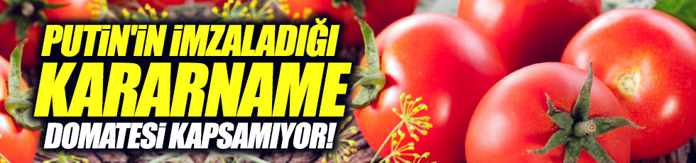 """Peskov: """"İmza domatesi kapsamıyor"""""""