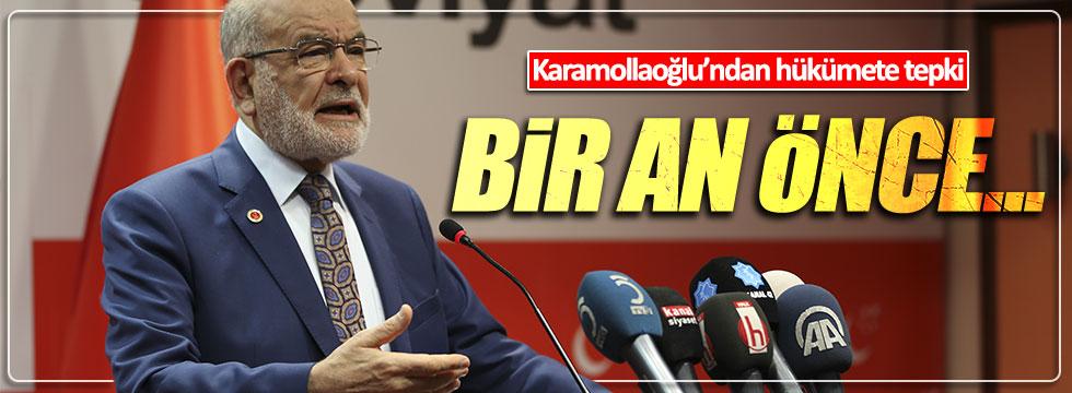 Karamollaoğlu: Hükümet acil olarak...