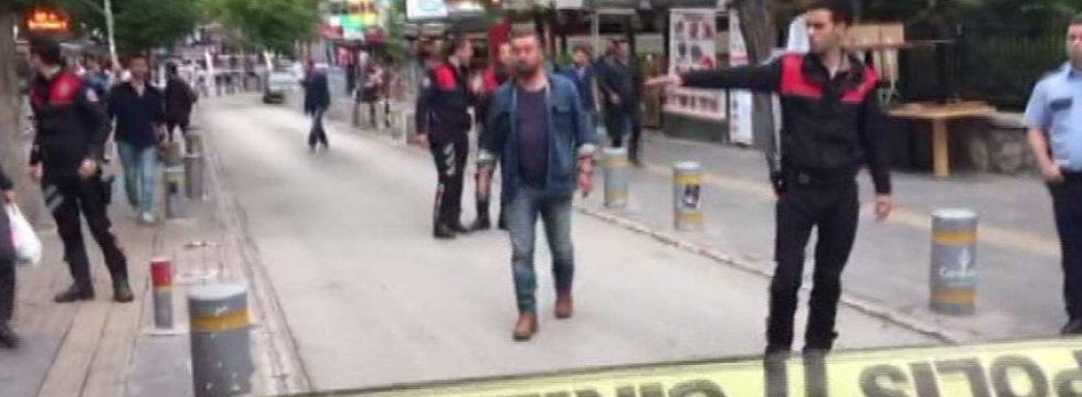 Ankara Kızılay'da bomba alarmı