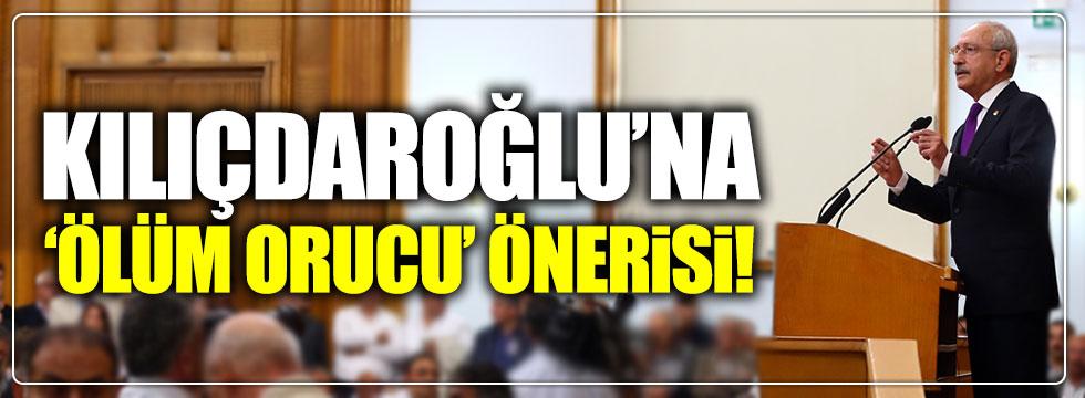"""Gazeteci Kılıçdaroğlu'na """"ölüm orucu"""" önerisinde bulundu!"""