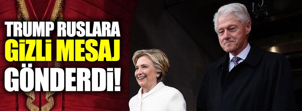 "Clinton: ""Trump, Ruslara gizli mesaj gönderdi!"""