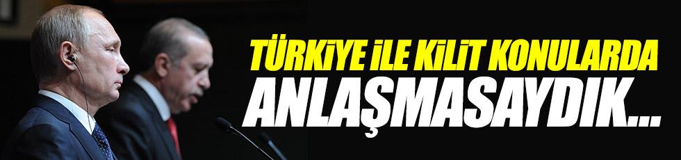 """Putin: """"Türkiye ile kilit konularda anlaşmasaydık..."""""""