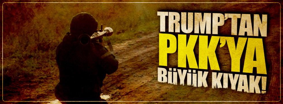 Trump'tan PKK'ya büyük kıyak!