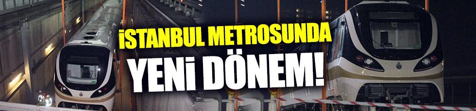 İstanbul metrosunda yeni dönem