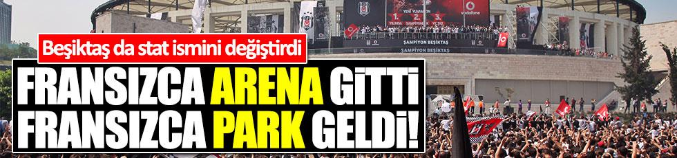 Beşiktaş'ın stadının adı Vodafone Park oldu