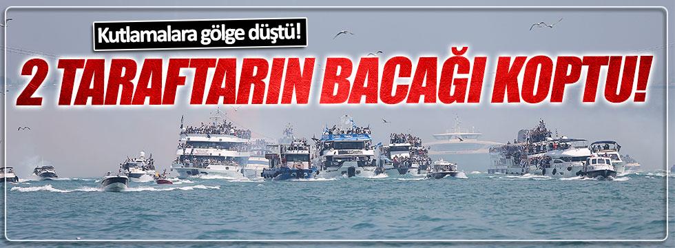 Beşiktaş'ın şampiyonluk kutlamalarında 2 taraftarın bacağı koptu