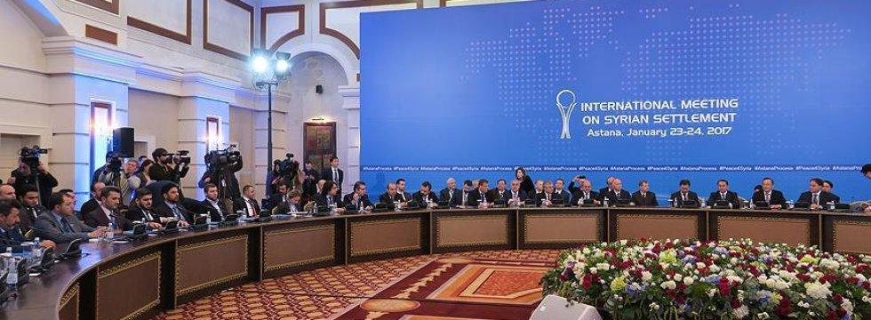 Astana görüşmelerinin tarihi belirlendi
