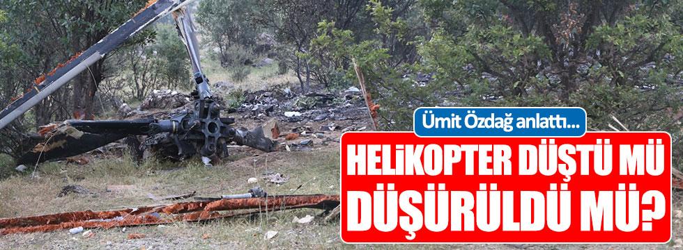 Ümit Özdağ: Helikopterin düşme nedeni...