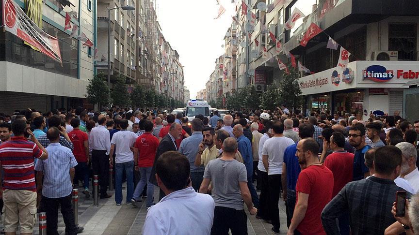 Güngören'deki saldırıya 15 gözaltı!