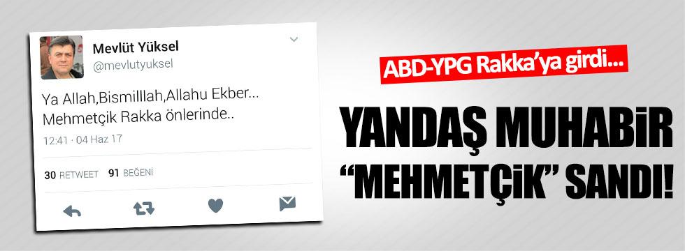 Yandaş Muhabir Mehmetçik Rakka'ya girdi sandı