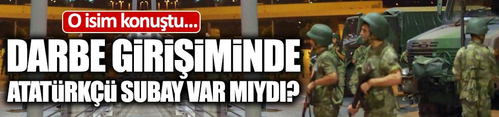 """Üçok: """"Darbe girişimine katılan tek bir Atatürkçü yok"""""""