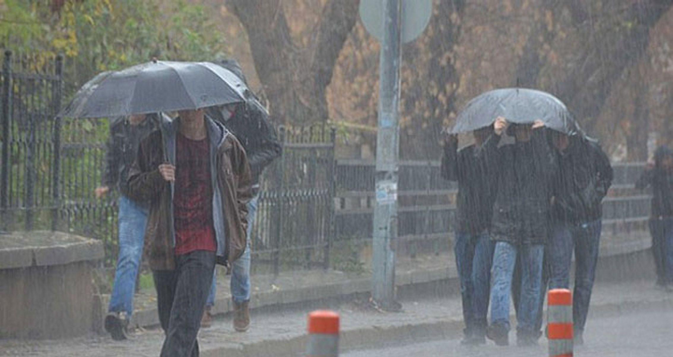 7 il için kuvvetli yağış uyarısı !