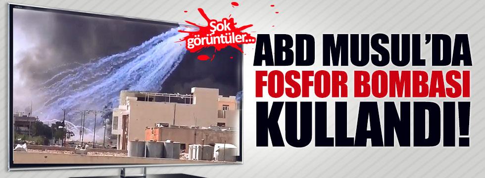 ABD, Musul'da fosfor bombası kullandı