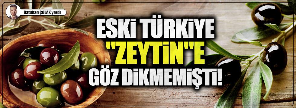 """Eski Türkiye """"Zeytin""""e göz dikmemişti!"""
