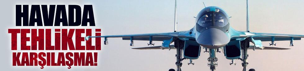 Rusya ve ABD jetleri arasında tehlikeli yakınlaşma