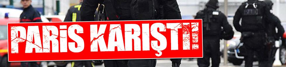 Paris'te silah sesleri yükseldi