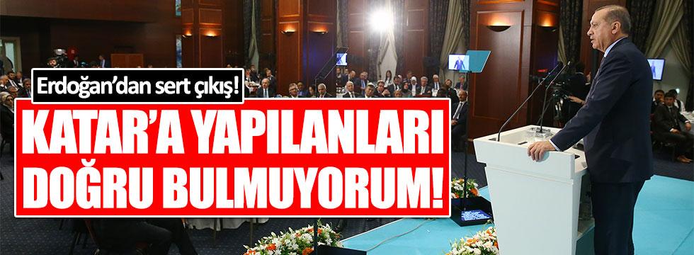 Erdoğan'dan Katar mesajı