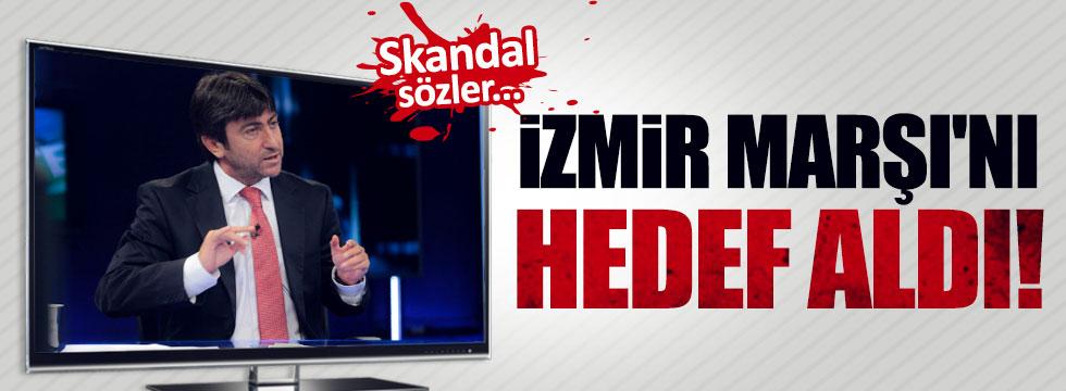 Skandal Sözler  İzmir Marşı'nı Hedef Aldı..
