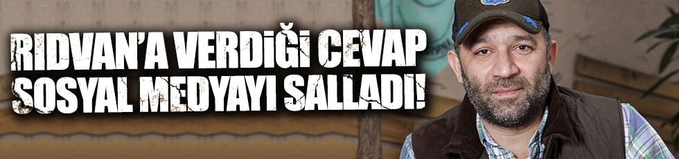Şevket Çoruh'un Rıdvan Dilmen'e tepkisi sosyal medyayı salladı