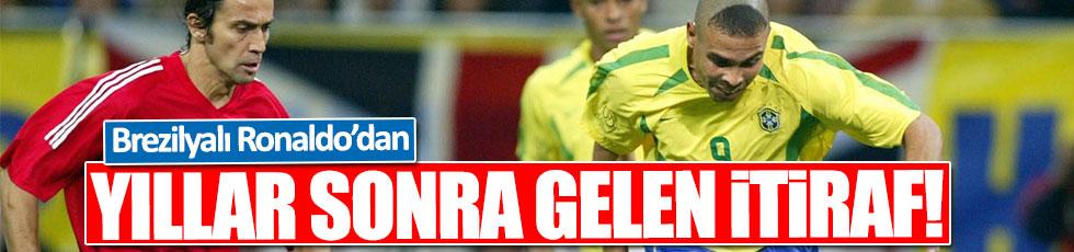 Ronaldo'dan Türkiye maçı itirafı