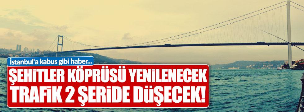 """Arslan: """"15 Temmuz Şehitler Köprüsü yenilenecek"""""""