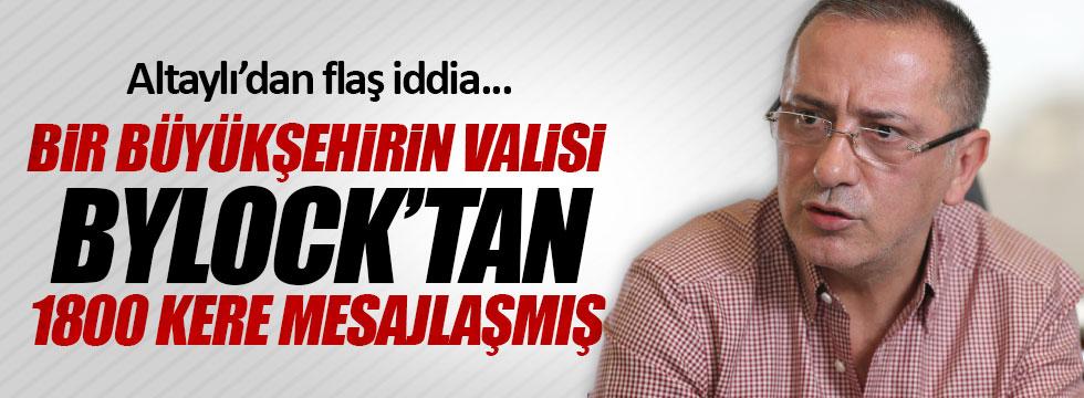 """Altaylı: """"Bir Büyükşehir Valisi ByLock kullandı"""""""
