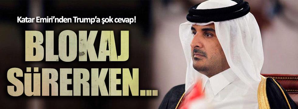 Katar Emiri, Trump'ın teklifini reddetti