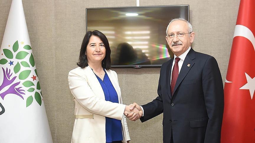 CHP Lideri Kılıçdaroğlu, HDP Genel Merkezini ziyaret etti!