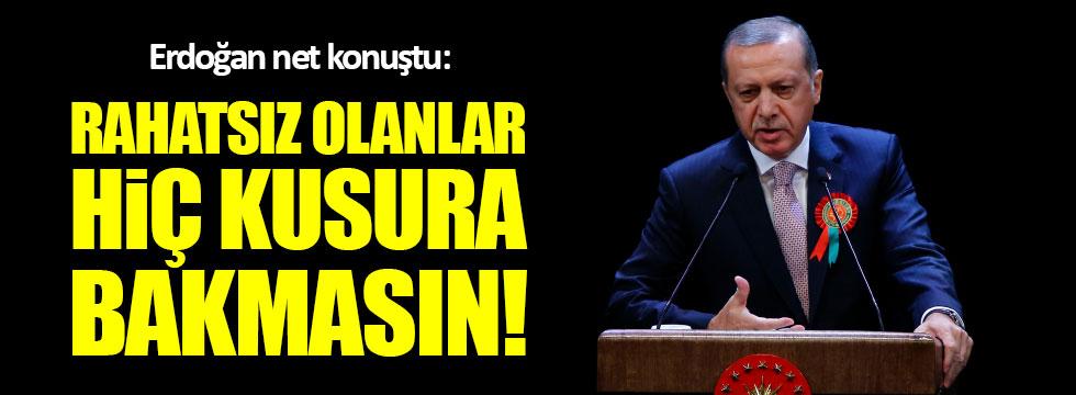Erdoğan: Katar'a her türlü desteği vereceğiz