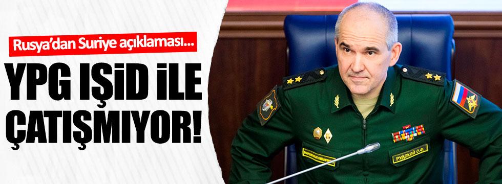Rusya : YPG , IŞİD ile çatışmıyor !