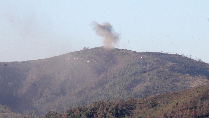 Esad rejimi Türkmen Dağı'nı vurdu!