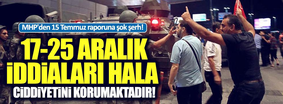 Darbe Komisyonu raporuna MHP'den muhalefet şerhi
