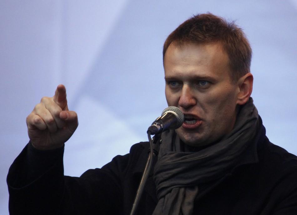 Putin'in siyasi rakibi Navalny gözaltında!