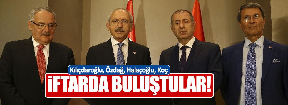 Kılıçdaroğlu ve Özdağ ile iftarda buluştu