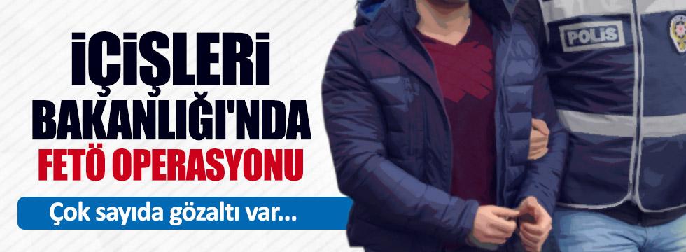 İçişleri Bakanlığı'nda FETÖ operasyonu:42 kişi için gözaltı kararı