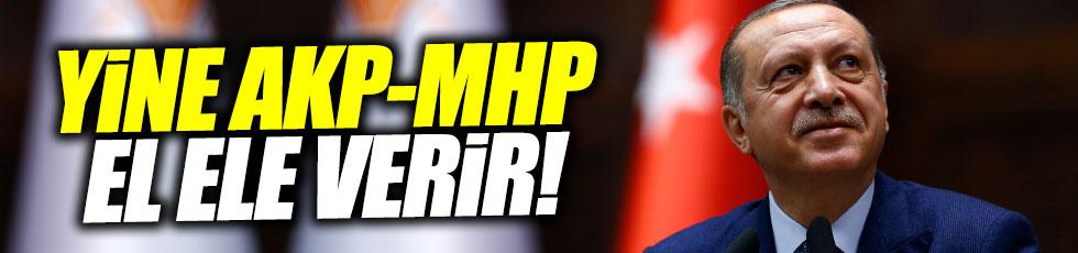 Erdoğan'dan MHP'ye çağrı