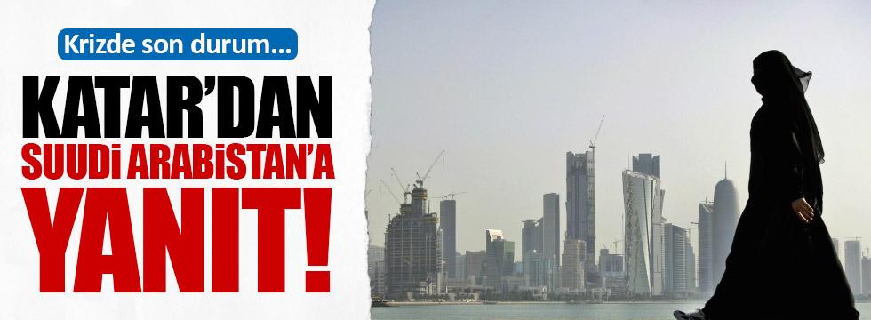Katar'dan Suudi Arabistan'a yanıt: Boykot değil doğrudan abluka!