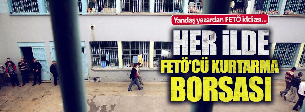 Yandaş yazardan FETÖ iddiası: Her ilde FETÖ'cü kurtarma borsası...