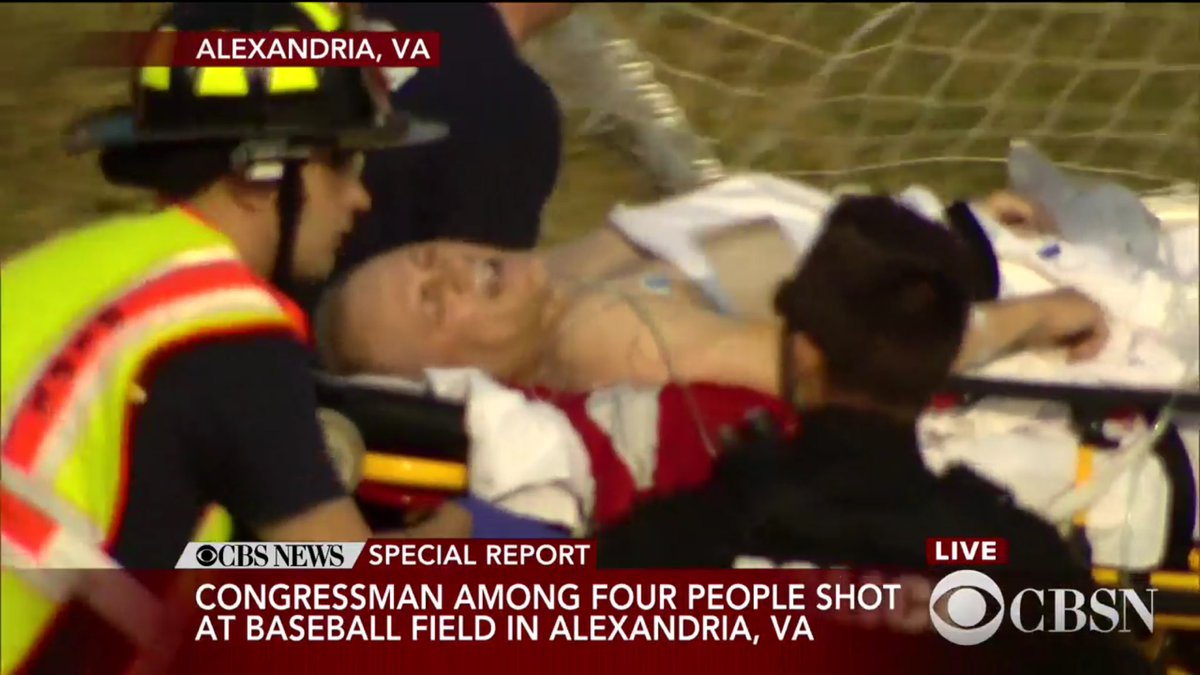 ABD'de Kongre üyelerine silahlı saldırı!