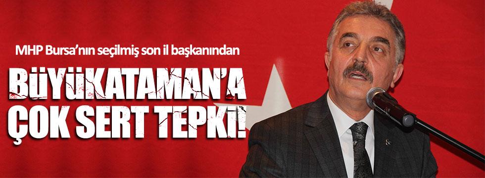 Yüksel Yılmaz'dan MHP'li Ataman'a tepki