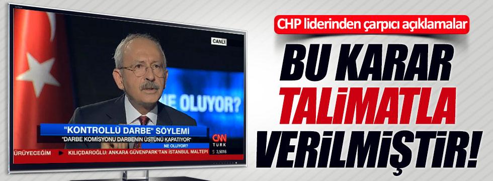 Kılıçdaroğlu'ndan çarpıcı açıklamalar