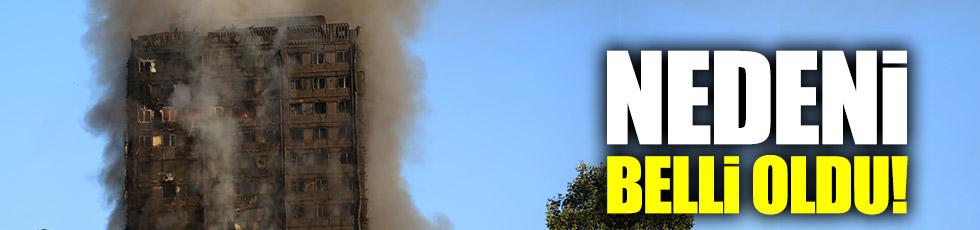 Londra'daki yangın faciasının nedeni belli oldu!