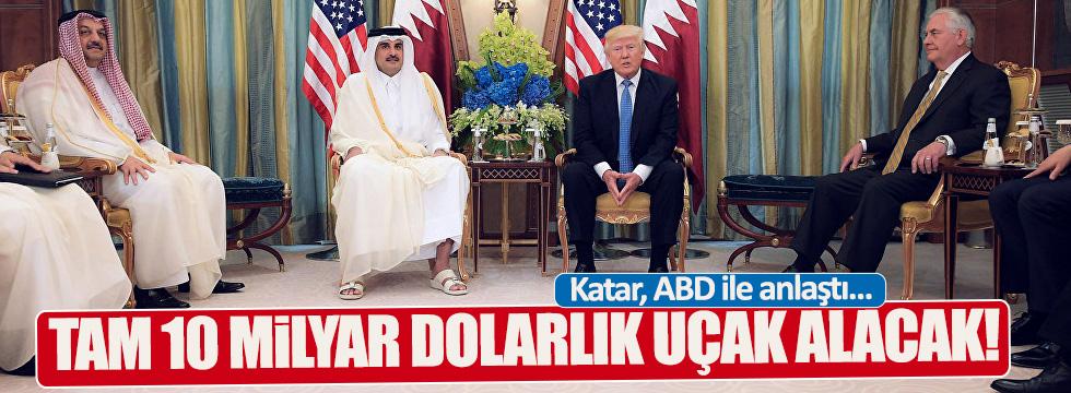 Katar, ABD'den savaş uçağı alacak!
