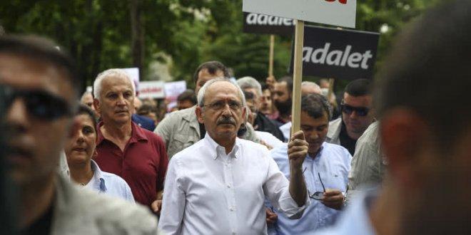 Adalet yürüyüşünde 13. gün