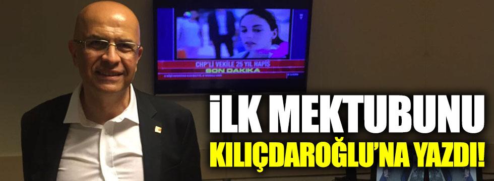 Enis Berberoğlu'ndan Kılıçdaroğlu'na cezaevinden mektup!