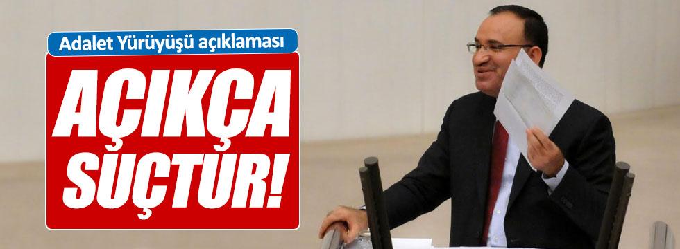 Bozdağ'dan, Kılıçdaroğlu açıklaması